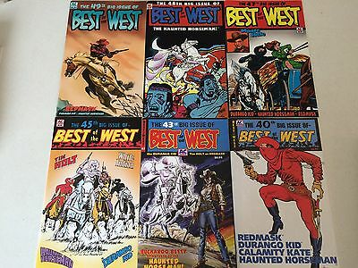 Best of the West AC Comics lot of 14 reprint 1950's Westerns
