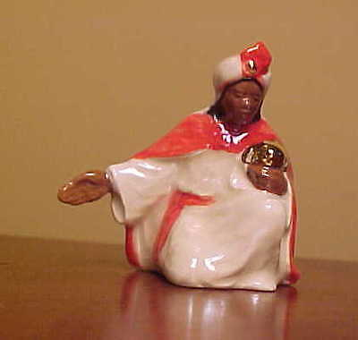 Hagen-Renaker Specialty WISE MAN ARM OUT from #3000 Nativity Set - New RED/WHITE