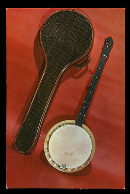 1950s Advertising Card Beltone Golden Banjos with Case, Sorkin Music Co., NY