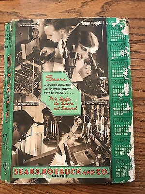1933 Sears Roebuck & Co. Spring & Summer vintage catalog