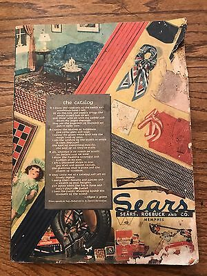 1934 Sears Roebuck & Co. Fall & Winter vintage catalog clothes toys
