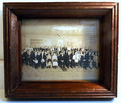 """Primitive Antique 11x13"""" Hand Made Deep Well Frame Holds 8x10 Picture c1800s"""