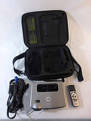 Dell 3400 MP Portable Multimedia Projector With Remote And Hard Case (670)