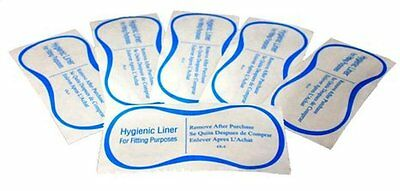 Ladies Intimates Swimwear Lingerie Fitting Clear Hygienic Liners Lot of 100