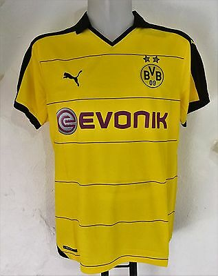 Borussia Dortmund 2015/16 S/s Home Shirt By Puma Size Adults Xxl Brand New