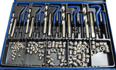 """Rdg Unf Helicoil Kit Thread Repair Set 1/4"""" - 1/2"""" Inserts Hss Taps And Tools"""