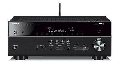 Yamaha rx v681bl music cast av receiver 3d spotify connect for Yamaha amplifier spotify