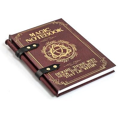 Magic Wand Notebook Spellbook with Magic Wand Pencil Witches & Wizards Notepad