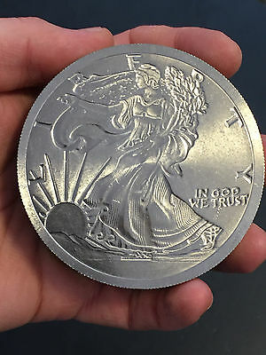 1 lb Pound ca. 460 Gramm 999 Titan Titanium Barren USA Walking Liberty Lady