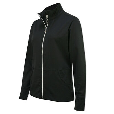 Daily Sports Lightweight Jacket with Flattering Fit in Black
