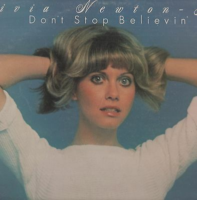 Olivia Newton John - ''Don't Stop Believin' 1976 UK EMI LP w/shaped inner. Ex!