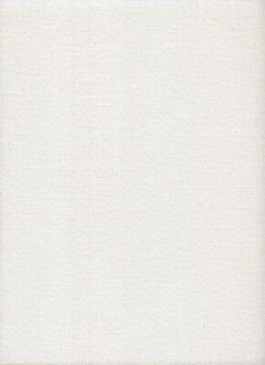 28 count Zweigart Cashel Linen Cross Stitch Fabric 49 x 54cms Pearl Lurex