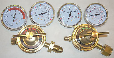 Oxygen Acetylene Regulator Set Cutting Welding OR-19 & AR-19 Free Ship