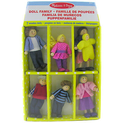Melissa & Doug Wooden Doll Family