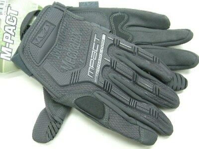 MECHANIX WEAR Size Small S Wolf Gray M-PACT Tactical Work Gloves! MPT-88-008