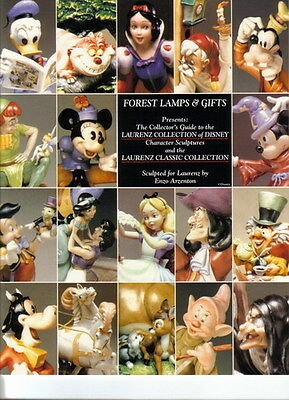 CAPODIMONTE Disney and LAURENZE Collector Guide all pieces are made in Italy