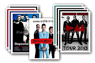 DEPECHE MODE  - 10 promotional posters - collectable postcard set # 2