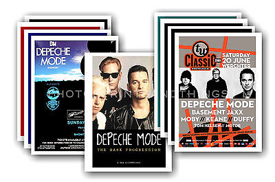 DEPECHE MODE  - 10 promotional posters - collectable postcard set # 3