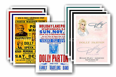 DOLLY PARTON  - 10 promotional posters - collectable postcard set # 1