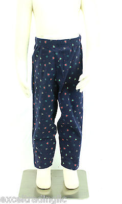 JACADI Girl/'s Tipico Indian Blue Cropped Linen Pants Size 8 Years NWT $48