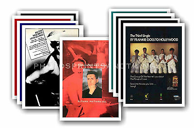 FRANKIE GOES TO HOLLYWOOD - 10 promotional posters  collectable postcard set # 2