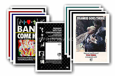 FRANKIE GOES TO HOLLYWOOD - 10 promotional posters  collectable postcard set # 3