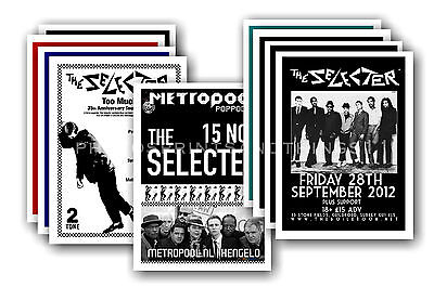 THE SELECTER - 10 promotional posters  collectable postcard set # 1