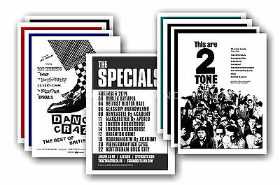 THE SPECIALS - 10 promotional posters  collectable postcard set # 1