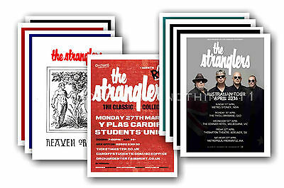 THE STRANGLERS - 10 promotional posters  collectable postcard set # 2