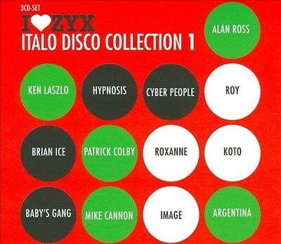 Various Artists - I Love Zyx: Italo Disco Collection 1 Used - Very Good Cd