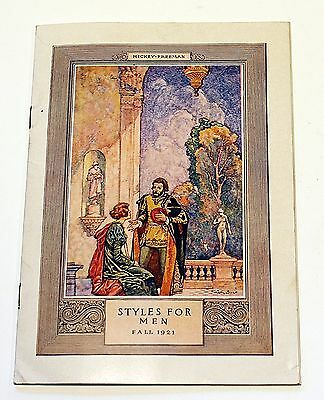 1921 WOOLF BROTHERS Kansas City Hickey-Freeman Clothes Catalog Color Plates