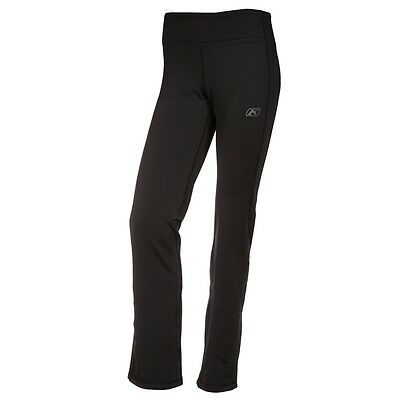 Klim Women's Sundance Comfortable Mid-layer Fleece Pants Black 3147-003-1_0-000