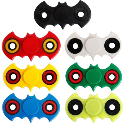 WHOLESALE JOB LOT,  Batman Fidget Spinner   (BULK TOYS)  1-500 PCS
