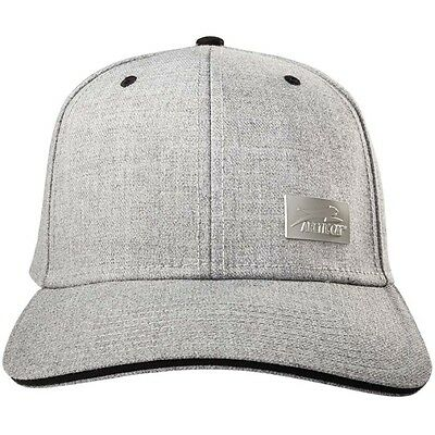Arctic Cat Wool Wide Brim Cap - Snapback Closure Aircat Logo - Gray - 5283-100