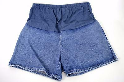 French Laundry Maternity Shorts Women's Blue Denim USA Large   ---x1