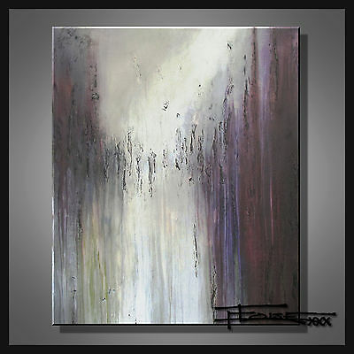 ABSTRACT PAINTING CANVAS WALL ART Large Listed by Artist Signed US  ELOISExxx