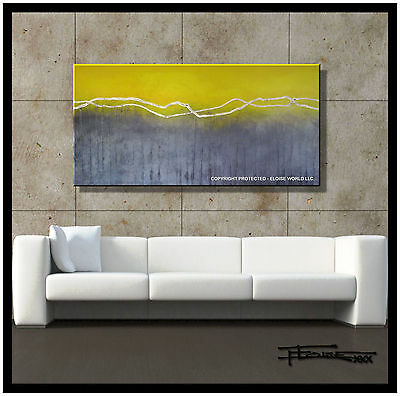 Canvas Painting Direct from Artist Abstract Large Modern Art USA ELOISExxx