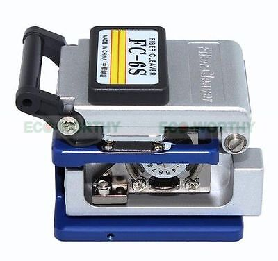 FC-6S Precision Cleaver Optical Fiber Cleaver Electric Cutting Tools Commercial