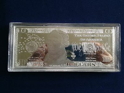 Washington Mint $10.00 Silver Federal Reserve Note  E5517