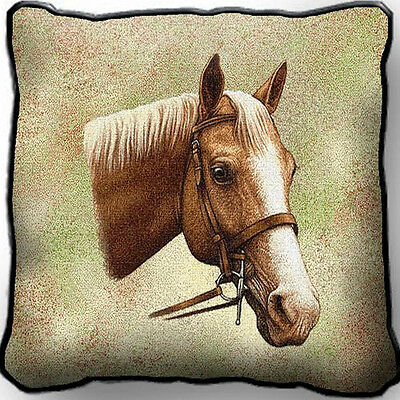"17"" x 17"" Pillow - Palomino 1736"