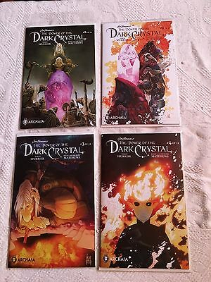 Jim Henson's The Power of the Dark Crystal Issues 1-4 Archaia Comics Spurrier