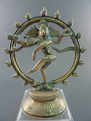 Indian Bronze Figure Of Shiva As Lord Of The Dance
