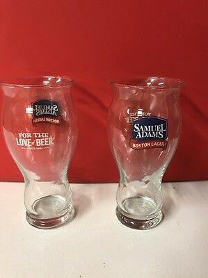 2 Sam Adams Boston Lager 24 Oz Beer Glasses (For The Love Of Beer)