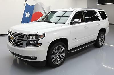 2015 Chevrolet Tahoe LTZ Sport Utility 4-Door 2015 CHEVY TAHOE LTZ 7-PASS SUNROOF NAV DVD 22'S 60K MI #698871 Texas Direct