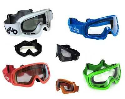 Moto X1 Viper Motocross MX Enduro Helmet Motorcycle Off Road Goggle All Colours