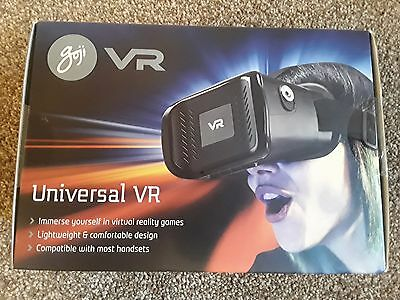 Goji Vr Universal Virtual Reality Headset Compatible With Most Handsets New