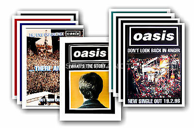 OASIS - 10 promotional posters - collectable postcard set # 2