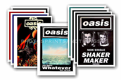 OASIS - 10 promotional posters - collectable postcard set # 3