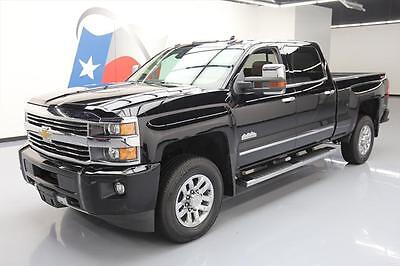 2016 Chevrolet Silverado 3500  2016 CHEVY SILVERADO 3500 HIGH COUNTRY CREW 4X4 DIESEL #250095 Texas Direct Auto