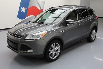 2013 Ford Escape SEL Sport Utility 4-Door 2013 FORD ESCAPE SEL ECOBOOST HTD LEATHER NAV 44K MILES #C44670 Texas Direct